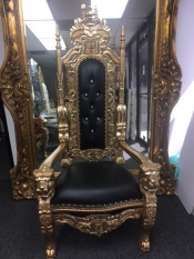 gold-and-black-king-throne
